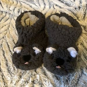 Cozy toddler slippers